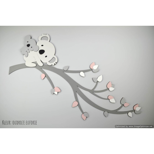 Tak met koala's - te kiezen kleur (100x60cm)