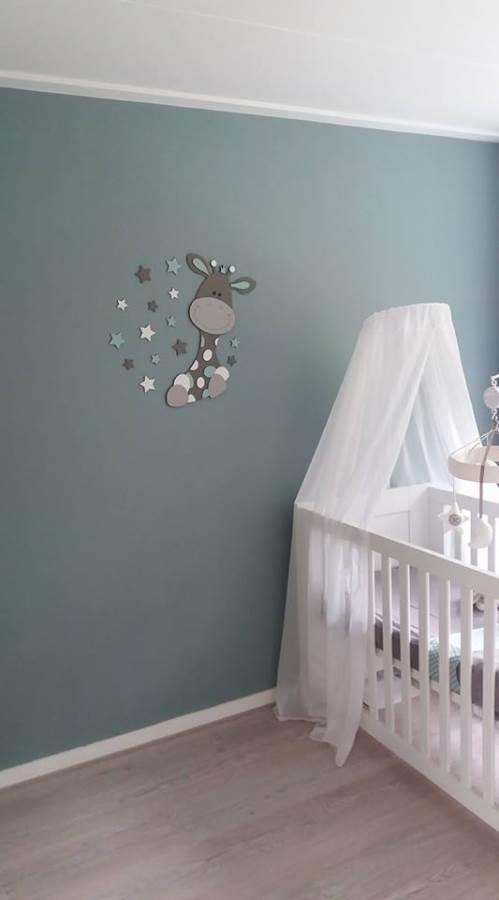 Babykamer Boom Hout.Koosje Decoraties Vrolijke Muurstickers Voor De Babykamer